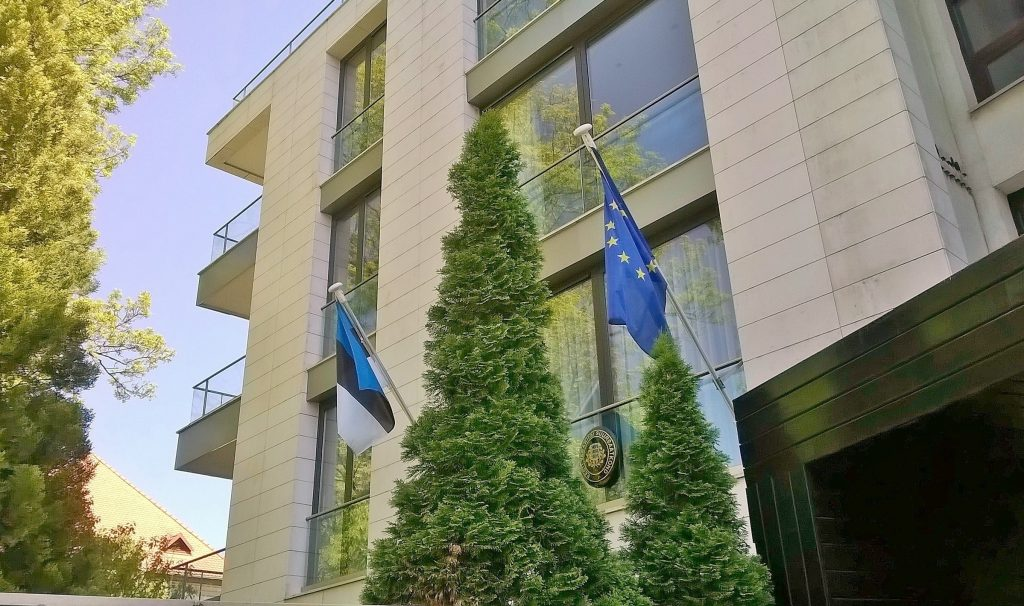 Estonian embassy Bucharest
