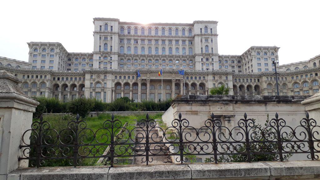 Rumeenia Bukarest parlamendihoone