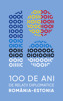 Photo: Logo of 100 years of diplomatic relations Estonia-Romania